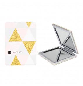 Espelho Retangular de Bolso Triângulos Sabrina Sato