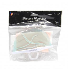 Máscara Higiênica para Maquiadores Macrilan