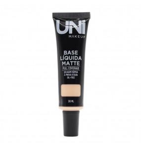 Base Líquida Matte Full Coverage UNI MakeUp