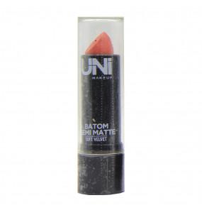 Batom Semi Matte Soft Velvet Uni Makeup