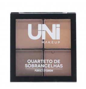 Quarteto de Sobrancelhas Perfect Eyebrow Uni Makeup