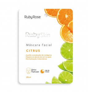 Máscara Facial 2 em 1 Ruby Skin Citrus Ruby Rose