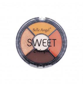 Paleta de Sombras Sweet Colorful Neutra Belle Angel