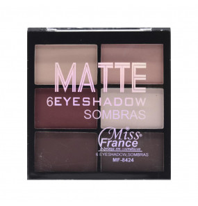 Paleta de Sombra Matte Miss France