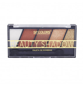 Paleta de Sombras Beauty Shadow 5 Cores SP Colors
