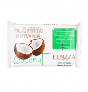 Toalhas de Limpeza Facial Coconut Fenzza