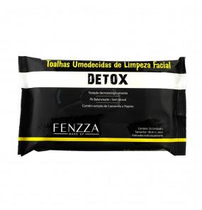 Toalhas de Limpeza Facial Detox Fenzza