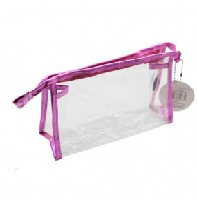 Necessaire Ruby's Transparente Metalizada