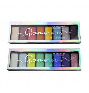 Paleta de Sombras Glamorous SP Colors