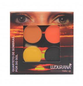 Quarteto de Sombras Por do Sol Ludurana